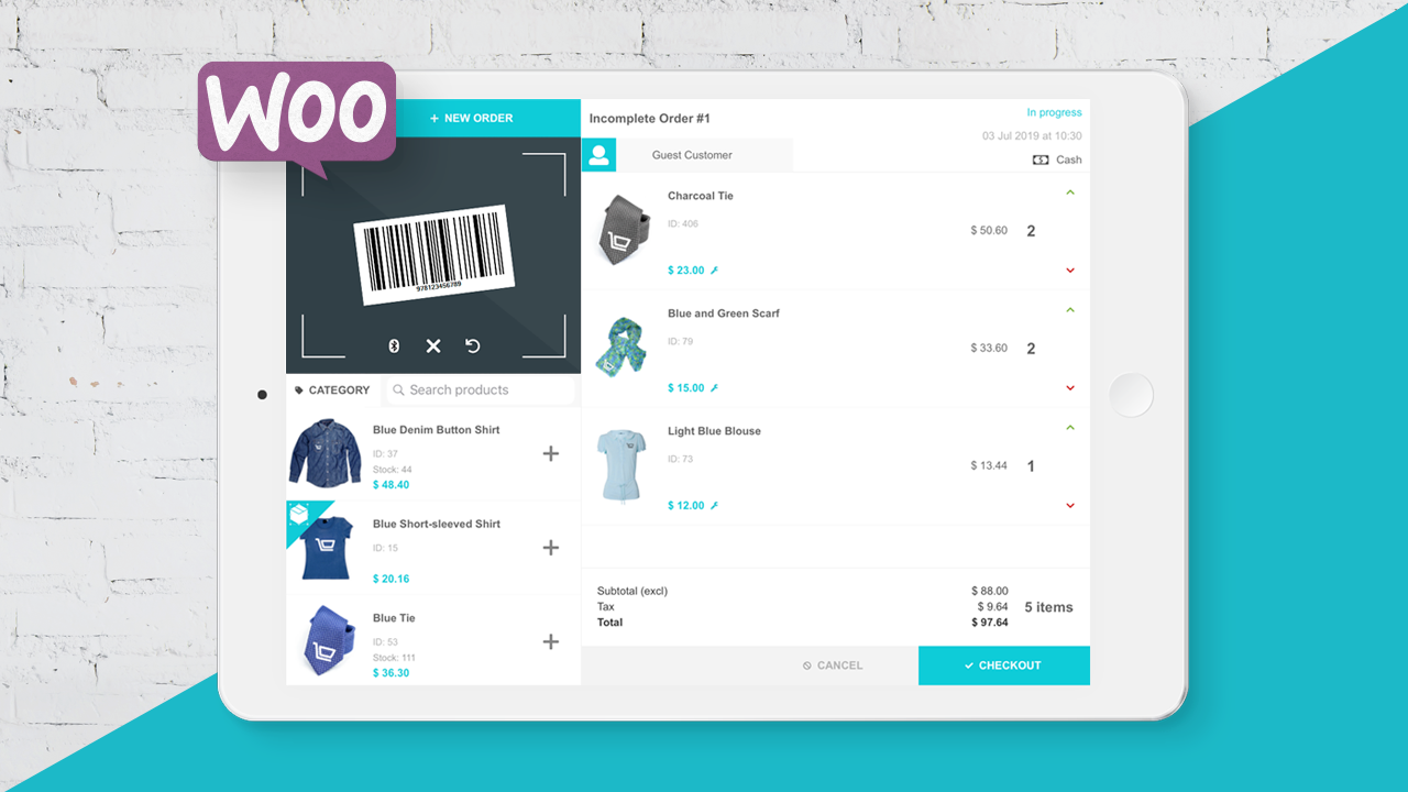 Secure Point of Sale for WooCommerce - FooSales